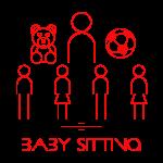 Pittogrammi Area 51 BIS Baby Sitting ROSSO (05 Giugno 2021)